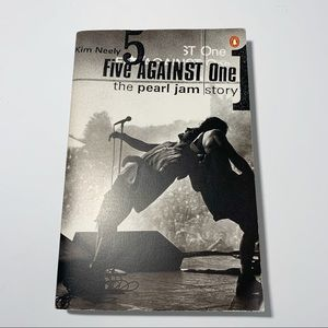 Pearl Jam Five Against One By Kim Neely Book 1998